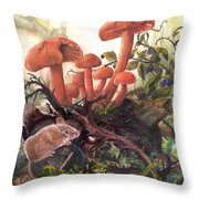 A Thorny Situation Throw Pillow