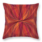A Thread In Time Throw Pillow