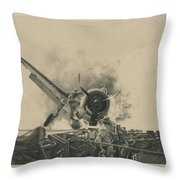 A Time For Courage Throw Pillow