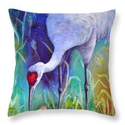 A Time To Nurture Throw Pillow
