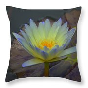 A Tinge Of Blue Throw Pillow
