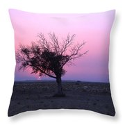 A Touch Of Alone Throw Pillow