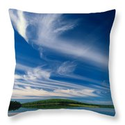 A Touch Of Heaven Throw Pillow