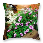 A Touch Of Nature Throw Pillow