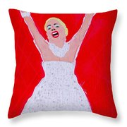 A Touch Of Star Quality Throw Pillow