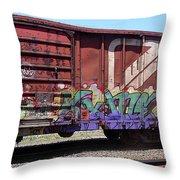 A Train Car Named Desire Throw Pillow