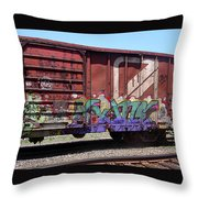 A Train Car Named Desire Throw Pillow