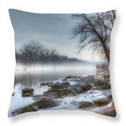 A Tranquil Evening Throw Pillow