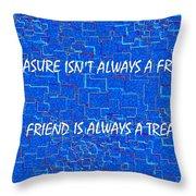 A Treasure Throw Pillow