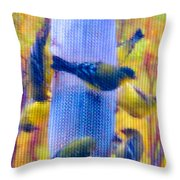 A Treasury In The Desert - Darker Throw Pillow