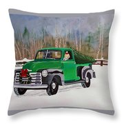 A Tree For Barney Throw Pillow