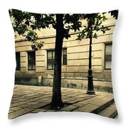 A Tree Grows In Barcelona Throw Pillow