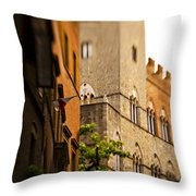 A Tree Grows Throw Pillow