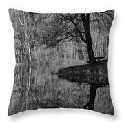 A Tree Of A Different Color Throw Pillow