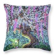 A Tree Of Many Colors Throw Pillow