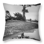 A Tree Stands Tall Throw Pillow