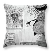 A Tribute To Vincent Throw Pillow