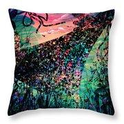 A Tropical Dream Throw Pillow