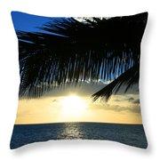 A Tropical Sensation Throw Pillow