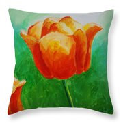 A Tulip For Jolee Throw Pillow