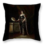 A Turkish Lady Throw Pillow