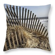 A Twisted Arch Of Snow Throw Pillow
