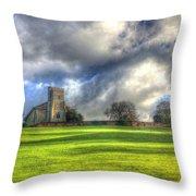A Typical Brit Landscape Throw Pillow