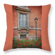 A Typical Italian Street Throw Pillow