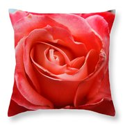 A Unique Rose Just For You Throw Pillow