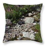 A Vail Stream Throw Pillow