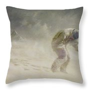 A Very Gallant Gentleman Throw Pillow