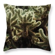 A Very Prickly Situation  Throw Pillow