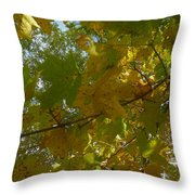 A View From Below Throw Pillow