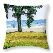 A View From Hancock Avenue Throw Pillow
