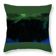 A View From The Heavens Throw Pillow