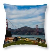 A View From The Presideo Throw Pillow