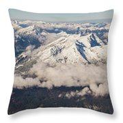 A View From Zugspitze Throw Pillow