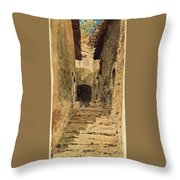 A View In Subiaco Throw Pillow
