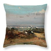 A View In Suffolk Throw Pillow