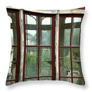 A View Into The Past Throw Pillow