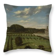 A View Of Bayhall Throw Pillow