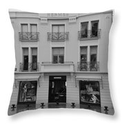 A View On Hermes Saint Tropez Throw Pillow