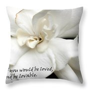 A View On Love Throw Pillow