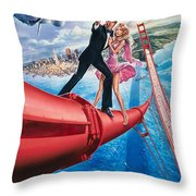A View To A Kill 1985 Throw Pillow