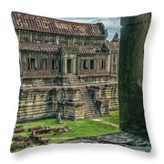 A View To Thrill Throw Pillow