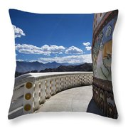 Spiritual Journey.. Throw Pillow