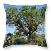 A Vintage Farm Throw Pillow