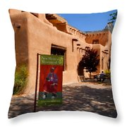 A Visit To The Museum Throw Pillow