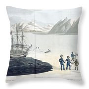 A Voyage Of Discovery Throw Pillow