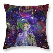 A W A K E N I N G    Solarl I F E Throw Pillow